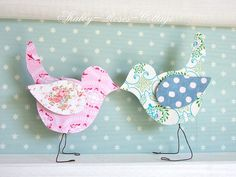 Paper birds by *ShabbyRosesCottage*, via Flickr