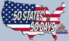 50 states in 50 days. I sure hope I remember this when the time comes to add geography!