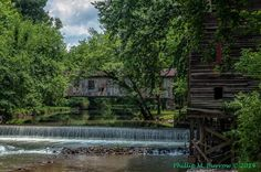 Kymulga mill and covered bridge