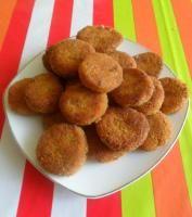 Kotlety jaglano - marchewkowe z curry