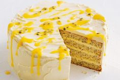 A high-rise of glorious zingy lemon - serve up this show-stopping dessert and wow your guests.