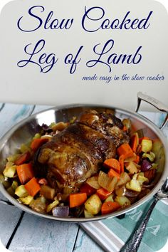 Cooked Leg of Lamb Made Easy In The Slow Cooker Slow Cooked Leg of Lamb Made Easy In The Slow Cooker from . Cooked Leg of Lamb Made Easy In The Slow Cooker from . Best Slow Cooker, Crock Pot Slow Cooker, Slow Cooker Recipes, Crockpot Recipes, Lamb In Crockpot, Slow Cooker Lamb Roast, Slow Cooked Lamb Leg, Crock Pots, Pork Roast