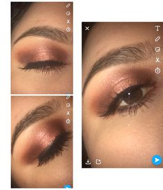 Urban Decay Naked Heat palette copper look