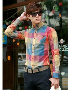 Men's Metro Checkered Shirts
