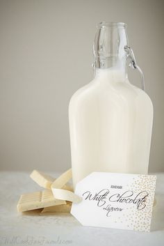 Homemade White Chocolate Liqueur | Will Cook For Friends by WillCookForFriends, via Flickr