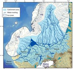 historical maps Collapse of European ice sheet caused chaos in past Archaeology Archaeology archaelogy caused chaos collapse European Historical Ice maps sheet European Map, European History, British History, Uk History, Ancient History, Ancient Egypt, Map Of Britain, Ice Sheet, Physical Geography