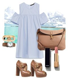 """""""Bom dia"""" by ilse-cevallos on Polyvore featuring Michael Kors, Burberry, House of Harlow 1960 and Chanel"""