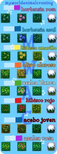 My World Animal Crossing: Todos los arbustos y las fechas en que florecen