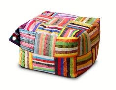 Handwoven Bean Bags | Beanbags | Mini Ejoro with woven rafia | ASHANTI