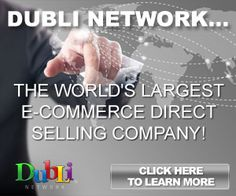 dublinetwork The worlds largest Ecommerce direct selling company. #ecommerce #dublinetwork