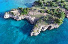 Pcific Rocks Island