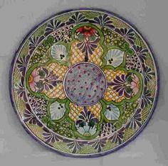 Talavera 18.5'' Platter - Mexican Connexion for Talavera Pottery [ MexicanConnexionforTile.com ] #shop #Talavera #Mexican