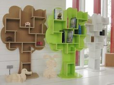 'Library Trees' offer whimsical shelf