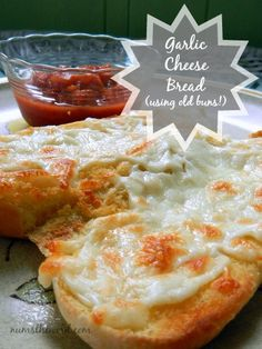 Num's the Word: What are doing with all your left over Hamburger and Hot Dog buns?  Tossing them?  DON'T!  Make this delicious Garlic Cheese Bread!  Easy, Simple and tastes amazing!