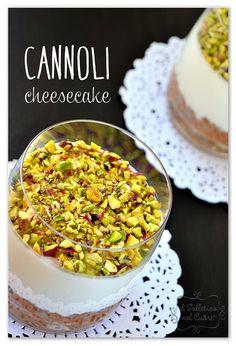 il solletico nel cuore: Cheesecake ai cannoli siciliani