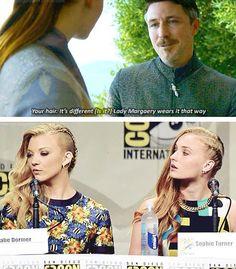 Sansa and Margarey's hair