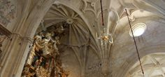 Detalle bóveda Iglesia de Santa María Estepa