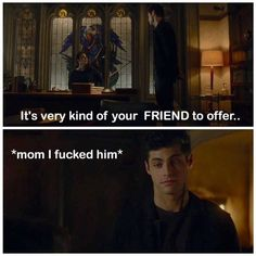 Imagen de tmi, alec lightwood, and magnus bane