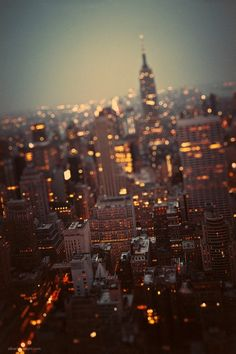 Twilight New York City
