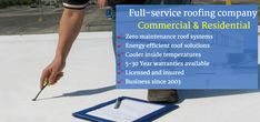 Applied Roofing Services, based in Anaheim, provides commercial and residential roof maintenance services to keep your roof in good condition and protect its longevity. Roofing Companies, Roofing Services, Roofing Systems, Roofing Contractors, Roof Installation, Roof Repair, Energy Efficiency, Outdoor Projects, 30 Years