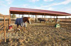 California style horse barn | Farm and Stables