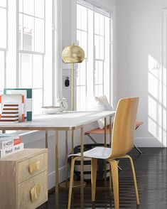 Charming Minimal And Chic Home Office Design Ideas Guest Room Decor, Guest Room  Office, Office