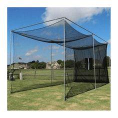 Cimarron 10x10x10 Masters Golf Net with Complete Frame #PlayingABetterGolfGame