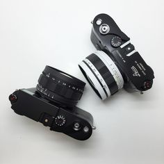 Leica's with Canon 50's