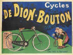 OGÉ, Eugène (1861-1936)   CYCLES DE DION-BOUTON   lithograph in colours, c.1905