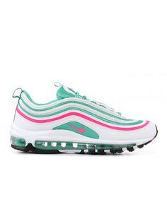4e218e39bc3ce5 Nike Air Max 97 Gs South Beach White Pink Blast Kinetic Green Outlet Air  Max 97