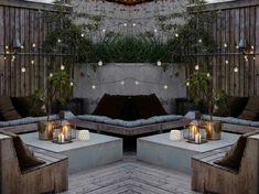 Rent Pergola For Wedding Patio Deck Designs, Patio Design, Simple Garden Designs, Terrasse Design, Outdoor Rooms, Outdoor Decor, Urban Cottage, Deck With Pergola, Pergola Ideas