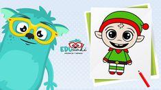 Jak Narysować Elfa  #edusiaki Elf, Family Guy, Guys, Fictional Characters, Elves, Fantasy Characters, Sons, Fairy, Boys