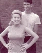 Dolly with her husband Carl Thomas Dean. She looks a little like Hayden Panetierre here!