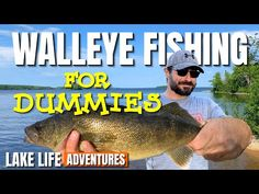 Walleye Fishing Lures, Fishing For Beginners, Gone Fishing, Life Is An Adventure, Lake Life, Life Hacks, Hunting, Learning, Cook