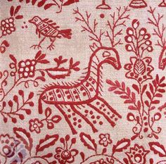 Jelen. Deer. - Slovak embroidery. (See a contemporary pillow pattern on: http://pinterest.com/pin/233483561902925941/)