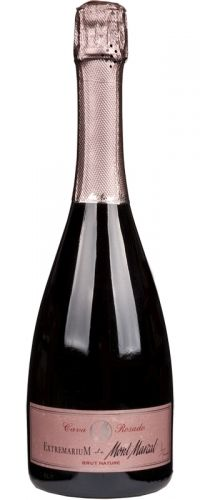 NEW PINK CAVA: Mont Marçal Extremarium Cava Rosado (Peñedes, Spain) | This premium, high-end Cava is made just from Pinot Noir and offers superb quality and pleasure for the money. Stunning! (Intro. price €20, RRP €25)