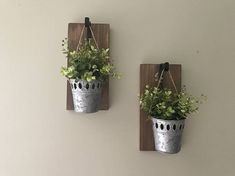 Rustic Home Decor, Rustic Wall Sconces, Hanging Planter, Rustic Sconce, Rustic Decor, Wall Decor, Ru