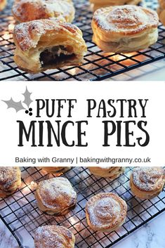 He would settle for any kind of festive mince pie but these puff pastry mince pies are definitely the favourite of Papa's. Savory Pastry, Puff Pastry Recipes, Xmas Food, Christmas Cooking, Key Lime Pie, Low Carb Crepes, Fruit Mince Pies, Mince Pies Recipe, No Bake Pies