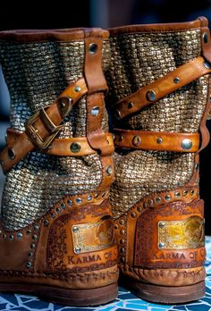 Tricot is the Best Vintage Boho boots 100% Made in Italy 100% HandMade
