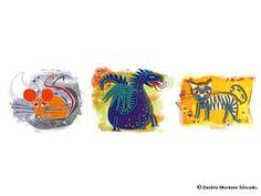 Ilustraciones Daniela Montané Trincado: HOROSCOPO CHINO China, Disney Characters, Fictional Characters, Art, Illustrations, Art Background, Kunst, Fantasy Characters, Art Education