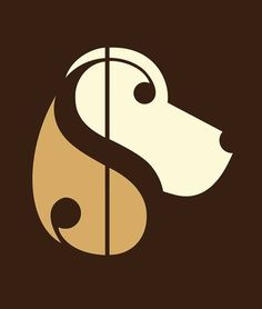 Dog Faces Hidden in the Symbolism of Illustrations. See more art and information about Noma Bar, Press the Image.
