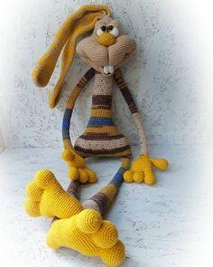 Crochet bunny in dress amigurumi – Free Amigurumi Patterns, Crochet Bunny Pattern, Crochet Rabbit, Crochet Animal Patterns, Plush Pattern, Stuffed Animal Patterns, Amigurumi Patterns, Free Pattern, Crochet Baby Toys, Free Crochet