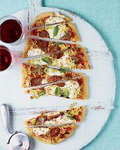 Sausage Lovers' Grilled Pizza Recipe - Kay Chun   Food  Wine