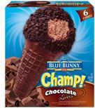 Champ!®  Chocolate Lovers  Ice Cream Cones