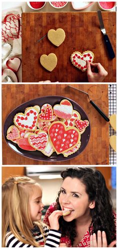 HGTV Crafternoon: Four Easy #Valentine's Day Cookie Decorations (http://blog.hgtv.com/design/2014/02/04/easy-valentines-day-cookie-decorations/?soc=pinterest)