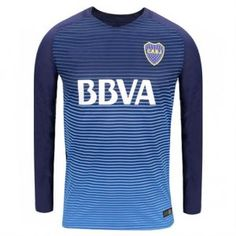 Boca Juniors 2016-17 Season CABJ Third LS Shirt [K818]