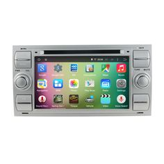 """7"""" Android 5.1.1 Quad Core Car Radio DVD GPS Navigation Central Multimedia for Ford Focus 1999-2008 3G WIFI Bluetooth Handsfree #Affiliate"""