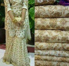 Pin by Sidra Ahmad on Dresses in 2019 Net Dresses Pakistani, Pakistani Dress Design, Indian Dresses, Dress Neck Designs, Saree Blouse Designs, Indian Designer Outfits, Designer Dresses, Desi Wedding Dresses, Kurti Designs Party Wear