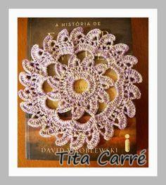 Tita Carré Agulha e Tricot : Uma toalhinha em crochet na história de Edgar Sawtelle