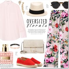 How To Wear Oversized Florals Dolce & Gabbana Outfit Idea 2017 - Fashion Trends Ready To Wear For Plus Size, Curvy Women Over 20, 30, 40, 50